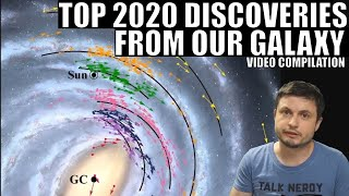 2020's Biggest Discoveries From Our Galaxy - Video Compilation
