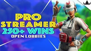 Pro Streamer || Fortnite LIVE Open Lobbies || Xbox One