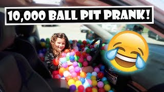 10,000 Ball Pit Prank 😂 (WK 393.7)   Bratayley
