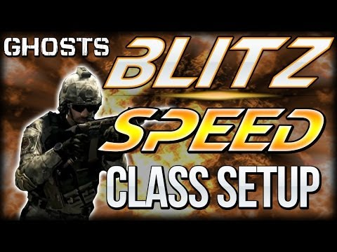 "COD Ghosts - ""BLITZ SPEED CLASS"" Setup - GET 10 CAPS EVERY GAME! (Call Of Duty) - Smashpipe Games"