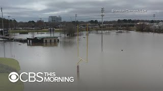 Mississippi flooding leaves nearly 3 million under state of emergency
