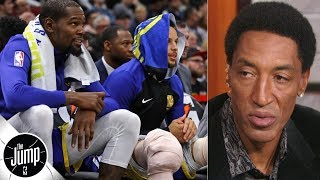 Warriors are ready for the playoffs - Scottie Pippen | The Jump