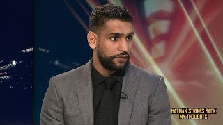AMIR KHAN'S DELUSIONS CONTINUE POST TERENCE CRAWFORD