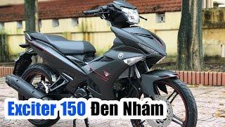 Yamaha Exciter 150 Đen nhám ▶ Đánh giá chi tiết!