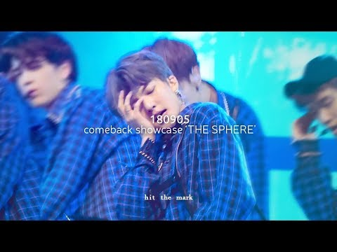 [4K] 180905 comeback showcase 'THE SPHERE' - Right Here 더보이즈 활 직캠 THE BOYZ HWALL focus