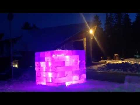 Jyoti Duwadi - Melting Ice Installation and Lighting at McMichael Canadian Art Collection