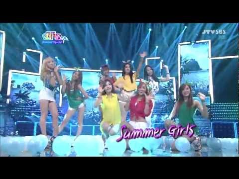 f(x),T-ara,After School,SISTAR  - HOT SUMMER SPECIAL STAGE (15 July,2012)