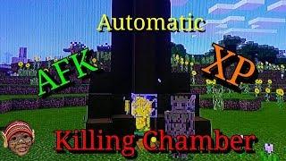 Minecraft MCPE Automatic XP Kill Chamber
