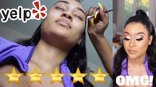 I WENT TO THE BEST REVIEWED MAKEUP ARTIST IN MY CITY | SHOCK!