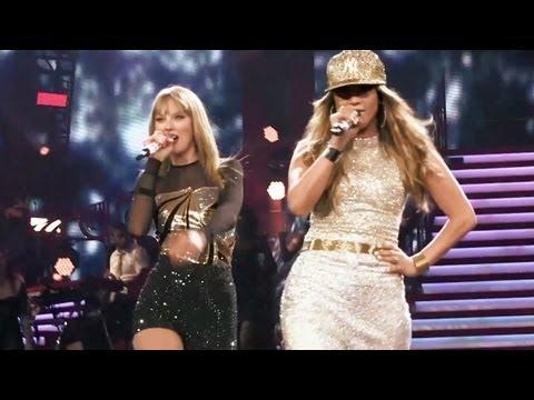 Jennifer Lopez & Taylor Swift  -