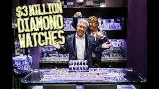 $3million Diamond Watches