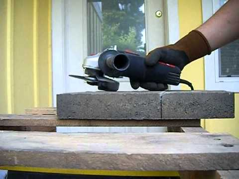 How To Cut Pavers For A Brand New Summer Patio Youtube