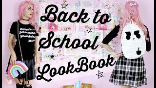 Alternative/Goth #BackToSchool LookBook (Casual Outfits)