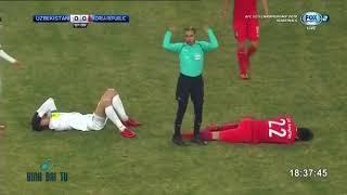 U23 Châu Á 2018: U23 Uzbekistan - U23 Hàn Quốc (Hiệp 1)