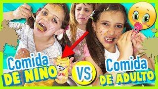 ¡¡NIÑOS vs ADULTO!! 🍼👶🏼 ¡¡Juegos DIVERTIDOS en español con NOA y sus primas!!