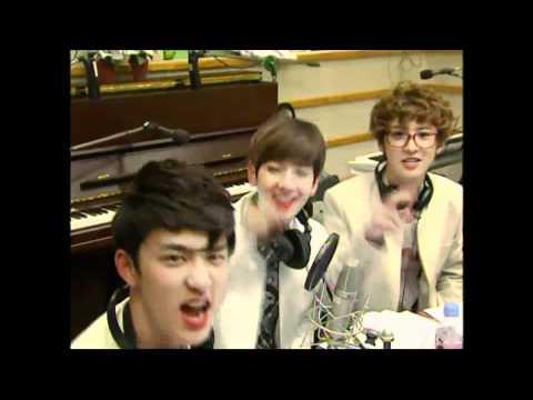 120507 EXO-K Playing with Camera @ Sukira Kiss the Radio