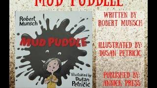 English Storybook: Mud Puddle by Robert Munsch