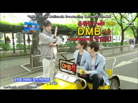 {Thaisub}120603 Traffic Safety Song EXO-K[EXOCHU]