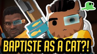 [NEW HERO] Baptiste as a CAT? - CATISTE - Overwatch Cats
