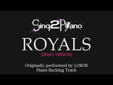 Baixar Royals (Piano Karaoke Version) Lorde