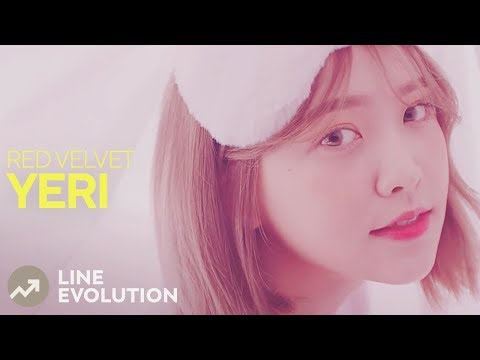 RED VELVET - YERI (Line Evolution) • JAN/18