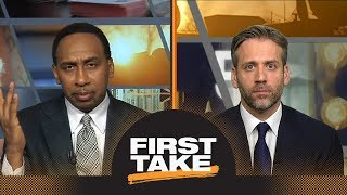 Stephen A. and Max debate Rockets vs. Raptors: How much does this game mean?   First Take   ESPN
