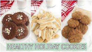 Healthy Holiday Cookies | paleo holiday recipes