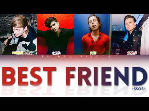 5SOS - Best Friend // color coded lyrics