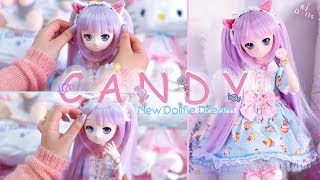 Unboxing my new Mini Dollfie Dream ⌈ Candy ⌋ ♡