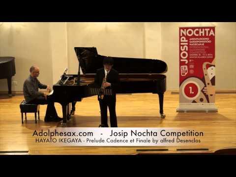 JOSIP NOCHTA COMPETITION HAYATO IKEGAYA Prelude Cadence et Finale by alfred Desenclos