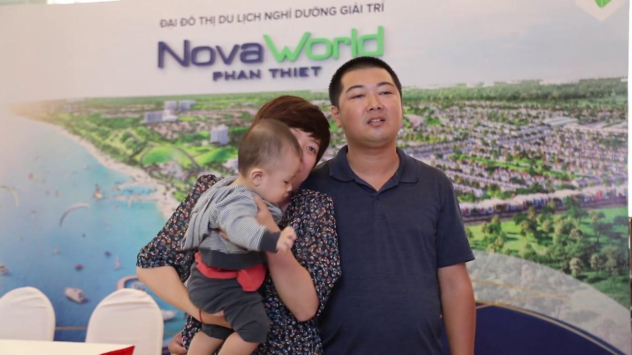 Bán biệt thự song lập NovaWorld Phan Thiết, DT 8x20m, hướng Đông Nam đẹp nhìn thẳng ra biển video