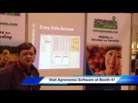 Plant Breeding Software from Agronomix at APSA Annual Seed Congress 2013