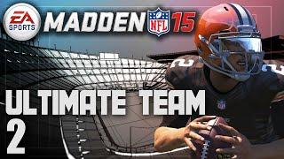 Madden 15 Ultimate Team - Manziel Gets The Start Ep.2