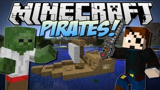 Minecraft | PIRATES! (Undead Pirates, Kegs, Ships & More!!) | Mod Showcase