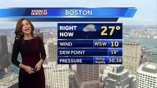 Video: Messy mix of snow, ice, rain on way