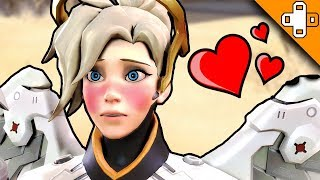 THE BATTLE FOR MERCY'S LOVE - Overwatch Funny & Epic Moments 329