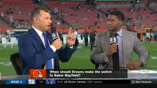 When should Browns make the switch to Baker Mayfield? | Thursday Night Football