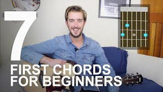 How To Play Guitar for Beginners - First Easy Guitar Chords