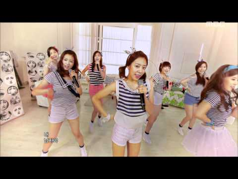 A Pink - It Girl, 에이핑크 - 잇 걸, Music Core 20110702