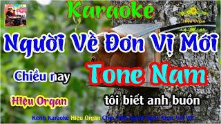 Karaoke 7979 Người Về Đơn Vị Mới Nhạc Sống Tone Nam || Hiệu Organ Guitar 7979