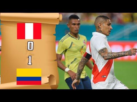Resumen y Goles   Perú 0 vs 1 Colombia   Amistoso Internacional (15/11/19)