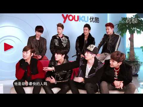 [Eng Sub CC] Youku Star Interview with Super Junior-M 130204
