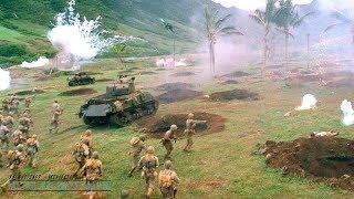 Windtalkers  2002  All Battle Scenes [Edited] (WWII June 15, 1944)