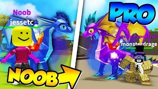 NEW GAME ( Dragon SIMULATOR ) FROM NOOB TO PRO IN 1 STREAM