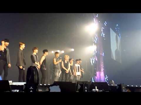 EXO  in BKK ~ Introduce talk พูดไทยเยอะมาก