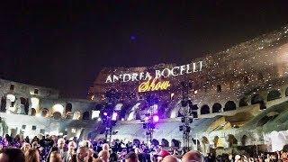 CFN Italy 2017 Andrea Bocelli Show in Colosseum