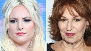 Meghan McCain Viciously Slams Joy Behar In Fight On The View
