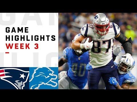 Detroit Lions vs New England Patriots