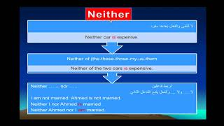 حلقة جرامر هامة عن Both Neither Either
