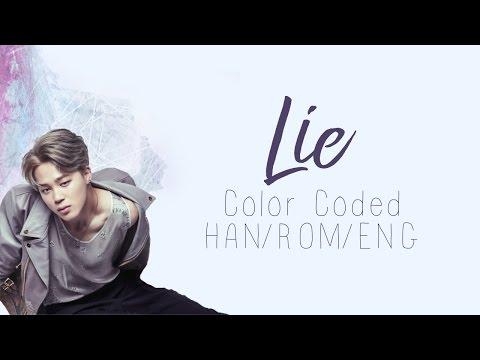 BTS (방탄소년단) | Jimin (지민) - Lie (Color Coded Hangul/Rom/Eng Lyrics)